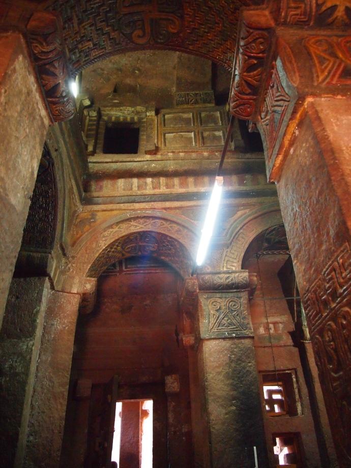 Walls And Ceilings >> Bet Maryam | african meanderings {& musings}