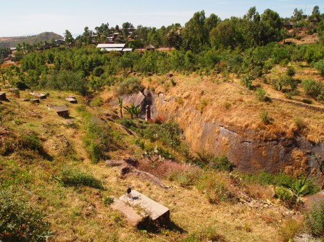 the River Jordan in Lalibela