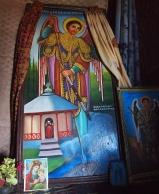painting inside Bet Gabriel-Rufael