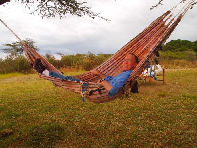 Ed in his hammock :-)