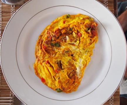 Ethiopian omelet