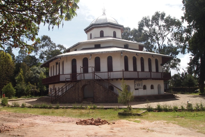 Entoto St. Raguel & Elias Historical Church
