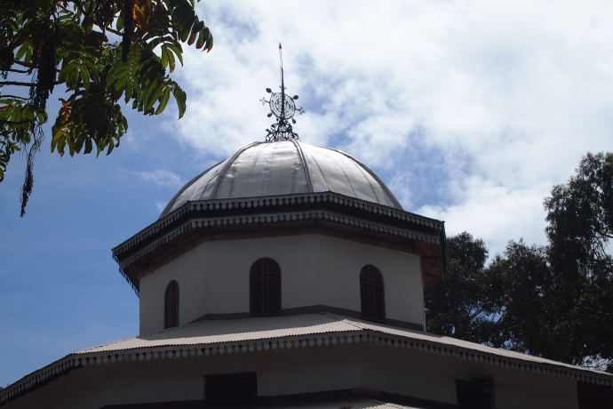 the dome on the church