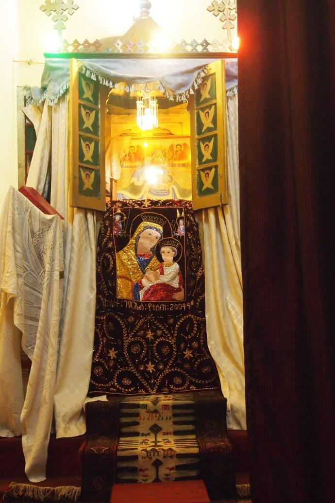 the holy altar