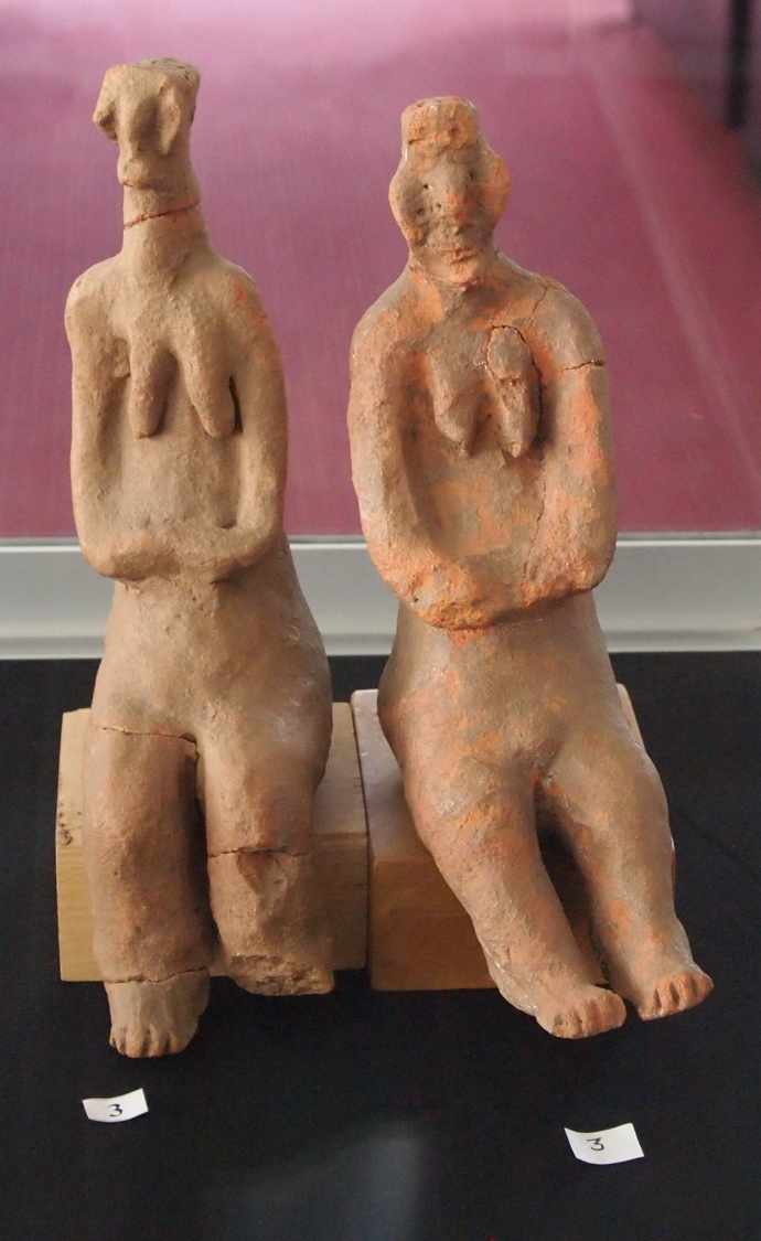 some statues from early times