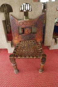 And these Ethiopian chairs are beautiful :-)