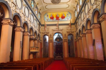 Inside Holy Trinity Cathedral