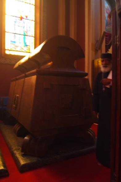 The tomb of Emperor Haile Selassie