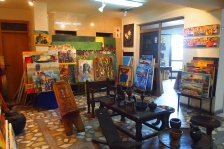 inside the Makush Art Gallery