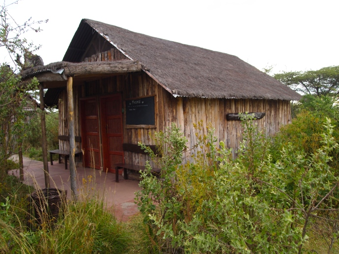 the massage hut at Bishangari Lodge